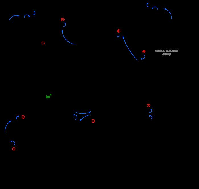 Mechanism of the Eschweiler-Clarke reaction.