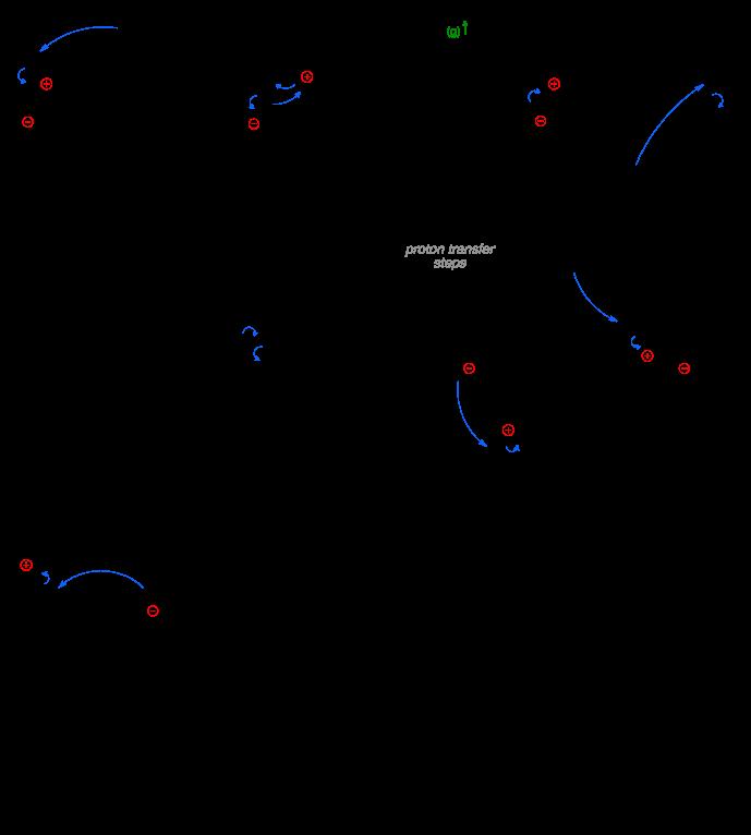 Mechanism of the Staudinger reaction.
